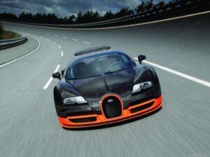 Qual é o carro mais rápido do mundo? #4 Bugatti Veyron Super Sport